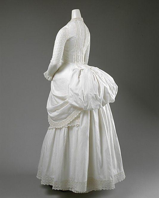 summer dress 1885 The Metropolitan Museum of Art