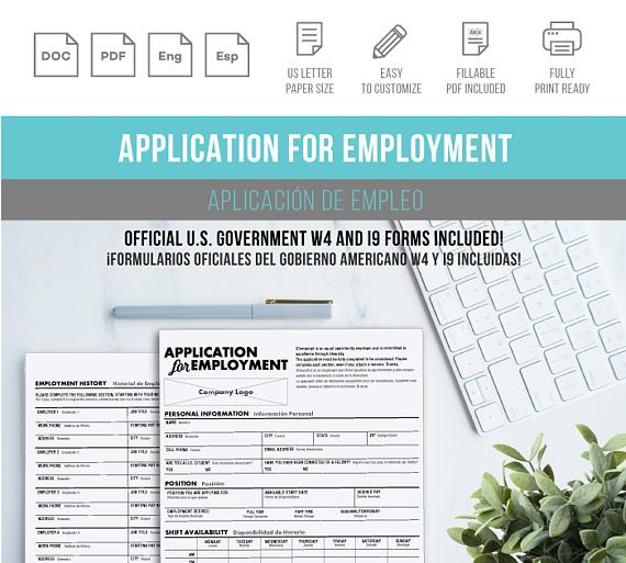 Best 25+ Job application template ideas on Pinterest Resume - employee application forms