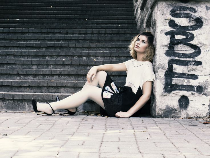 Dress inspired Hundertwaser