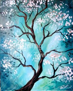 **PWAT FAVORITE!** Zen Tree - Skippack, PA Painting Class - Painting with a Twist