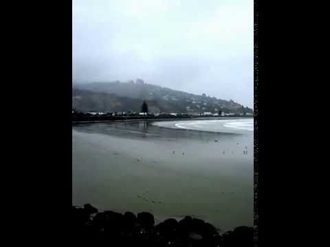 Scarborough to Sumner, Christchurch New Zealand - YouTube
