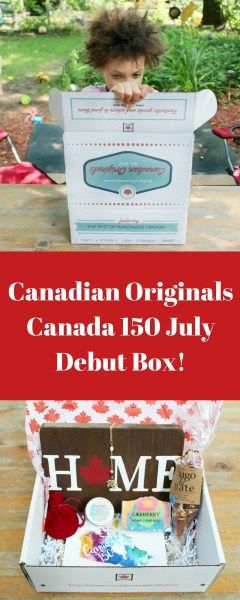 A Surprise in Every Box with Canadian Originals