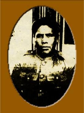 Joseph Oklahombi ~ An American soldier of the Choctaw nation. He was