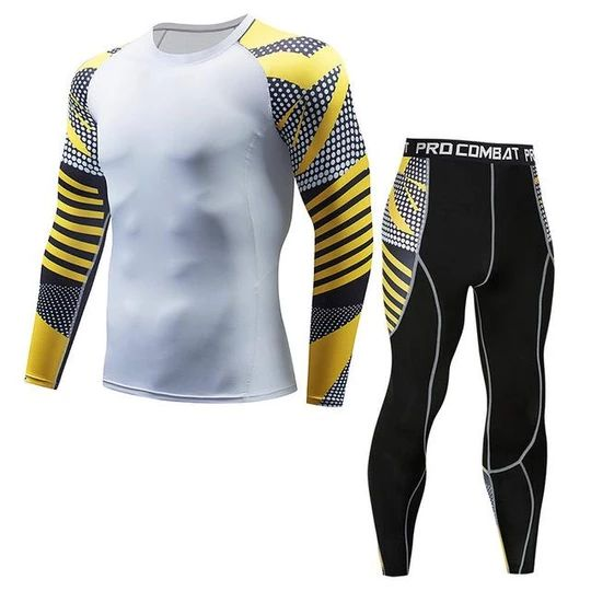 2018 New Winter Men Thermal Underwear Sets Elastic Warm Fleece Long Johnsheavengifs