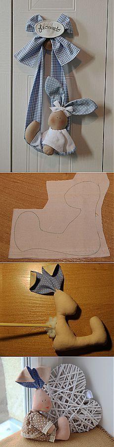 игрушка зайчик в стиле тильда | тильда мастер (тильдамастер)