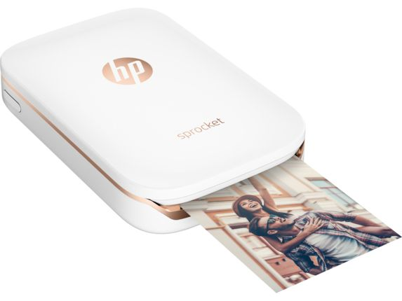 HP Sprocket Photo Printer - White | HP® Official Store