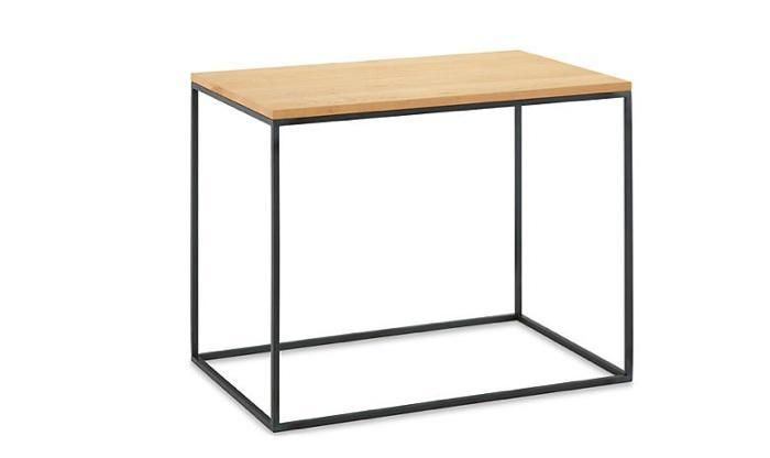 Natural Steel End Table | Room & Board | Via Remodelista