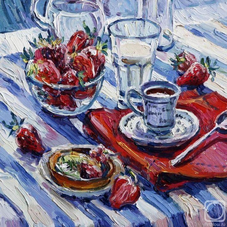 Суббота 27 июня. Филиппова Ксения. Клубничный завтрак