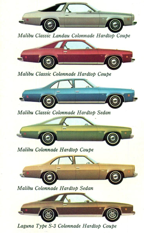197377 Chevelle Body Styles Chevrolet malibu, Classic