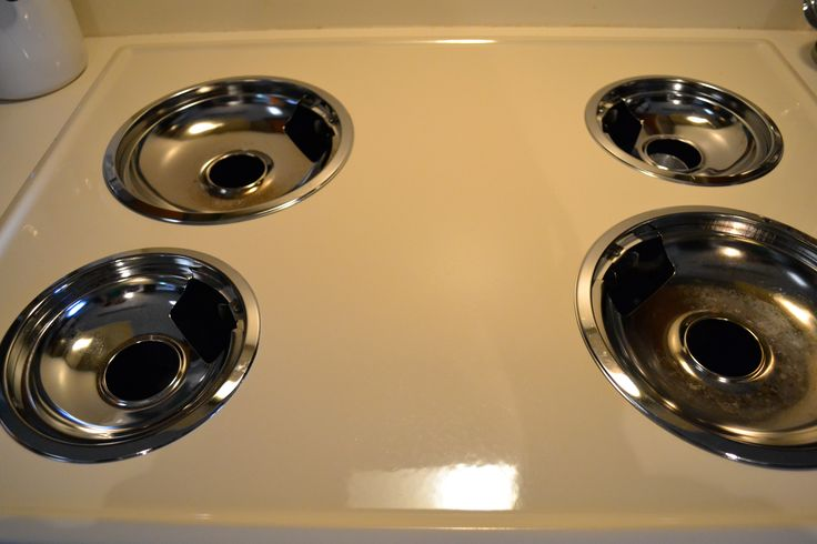 For those of you who are fortunate like me to have a non-flat top stove, here is an easy $1 solution to get the drip pans CLEAN. I didn't realize that was possible. But it is. :) I found this from ...
