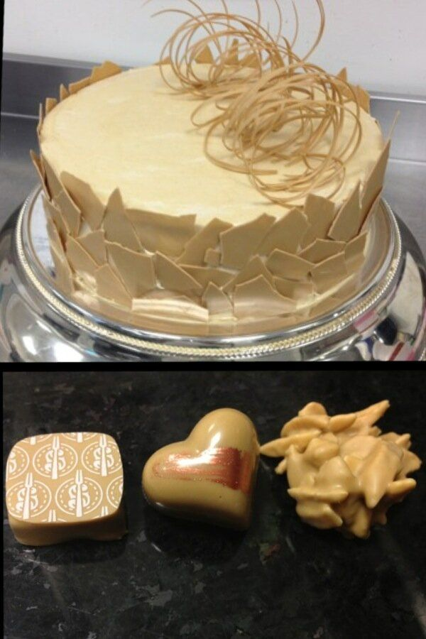 Dulcey Pastry Creation by Chef David Chow.