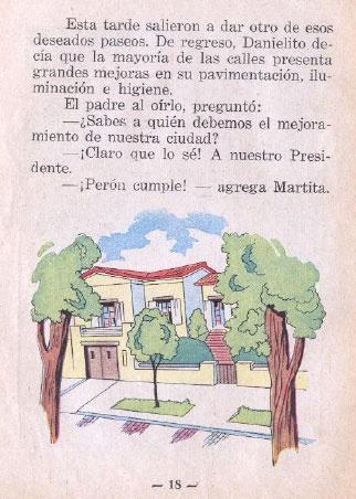 Propaganda - Perón - Adoctrinamiento