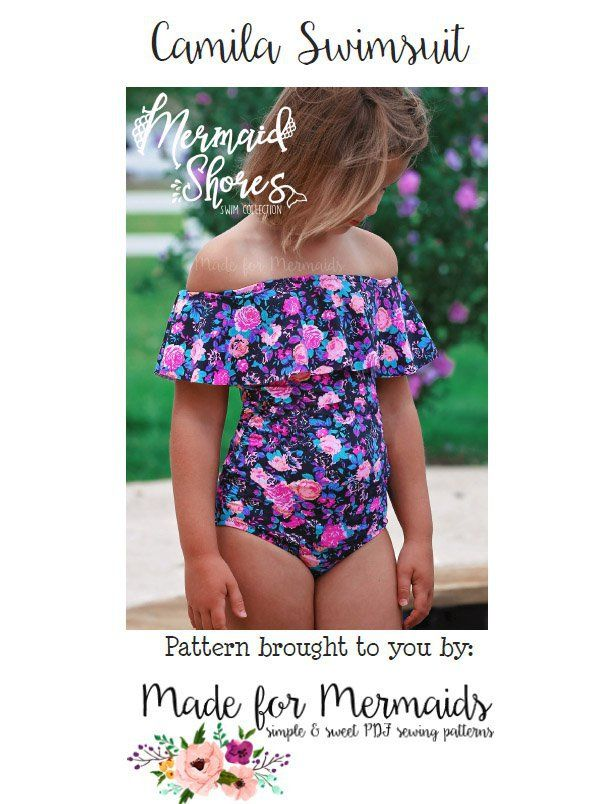 Mermaid Shores Collection- Camila Swimsuit ⋆ Made for Mermaids
