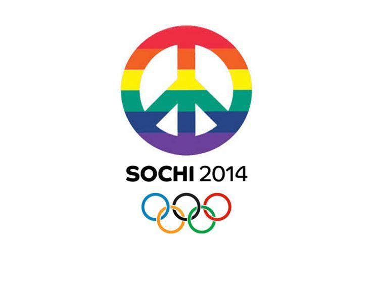 Share... Sochi Gay Pride 2014 Winter Olympics, Russia.