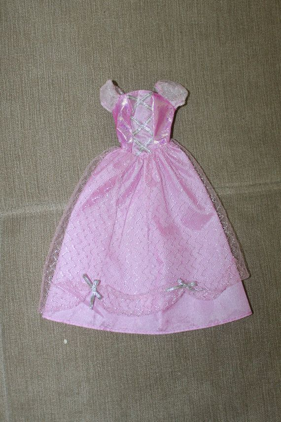 Ideal Barbie Princess Dress Realistic Barbie Clothing by YourVintageDays