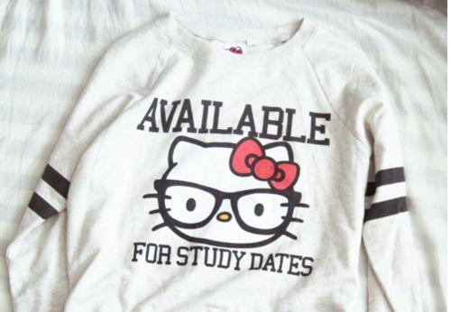 Hello Kitty study date!