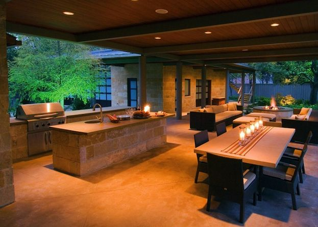 44 best images about Luxury Outdoor Kitchens Ideas on Pinterest