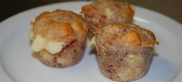 Oppskrift på sciones med ost og bacon - Lavkarbo-oppskrift fra Allers Lavkarbo