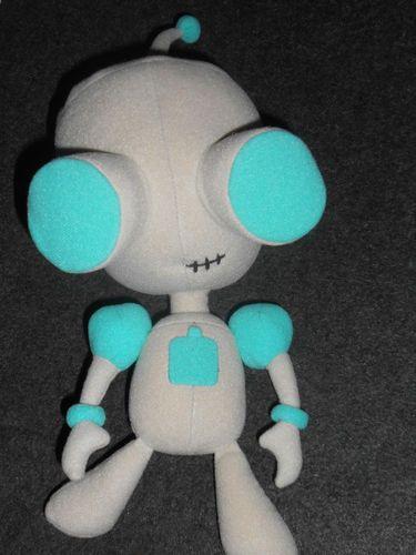 Nickelodeon Invader Zim Gir As Robot Plush Doll Dolls