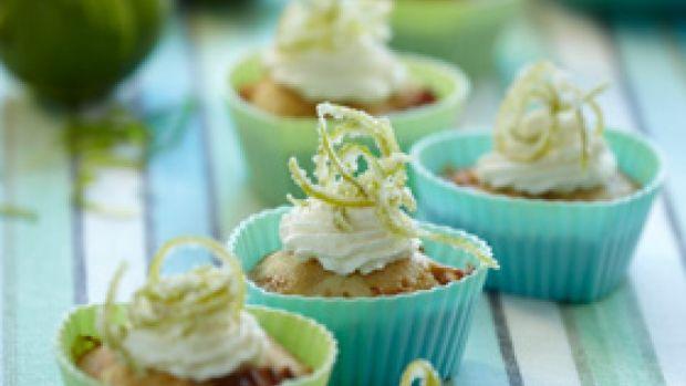 Opskrift på muffins med lime