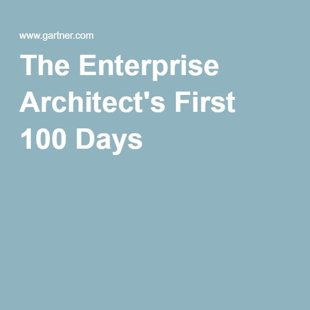 a day as an enterprise architect Brian chambers, an enterprise architect at chick-fil-a kent weare, the acting managing director, it for transalta ian sutcliffe, an experienced enterprise architect working at a european company.