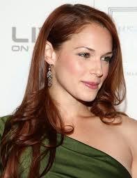 Amanda Righetti ( Actress )  Love her red hair.