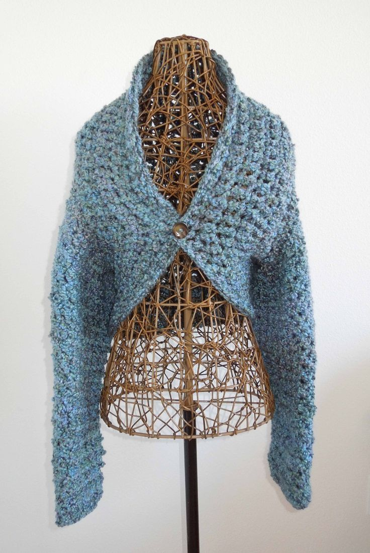 16 best crochet sweater pattern free images on pinterest crochet no seam shrug free crochet pattern bankloansurffo Images