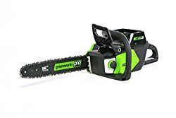 GreenWorks Pro 80V 16″ Brushless Chainsaw Battery & Charger not included, CS80L01