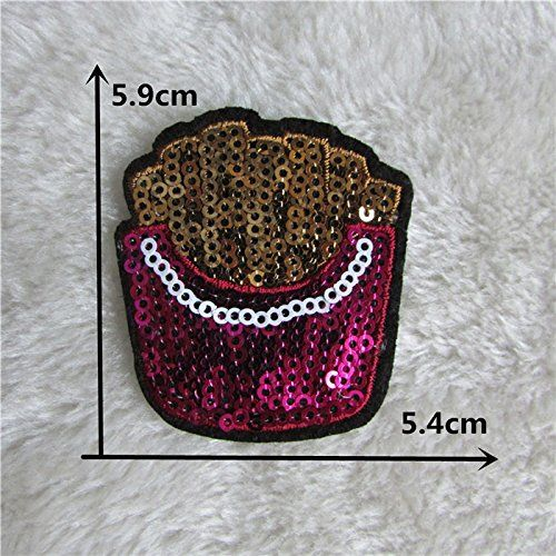 FairyTeller Cartoon Style Patch Hot Melt Adhesive Applique Embroidery Patch Diy Clothing Accessory Patch C707-C722 -- Details can be found by clicking on the image.