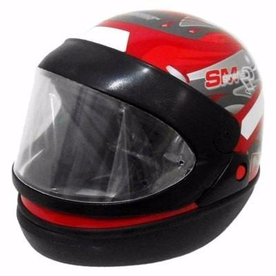 capacete san marino taurus vermelho tamanho 58 brilhante
