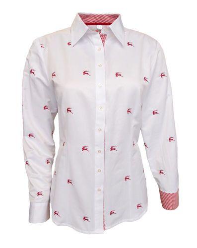 KOSZULA DAMSKA OS TRACHEN Z MOTYWEM   Odzież \ Koszule damskie