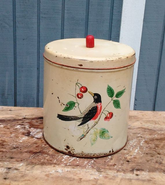 1000+ Ideas About Vintage Canisters On Pinterest