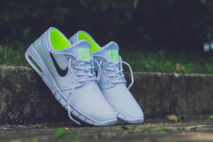 Nike SB Stefan Janoski Max: White, Black & Volt