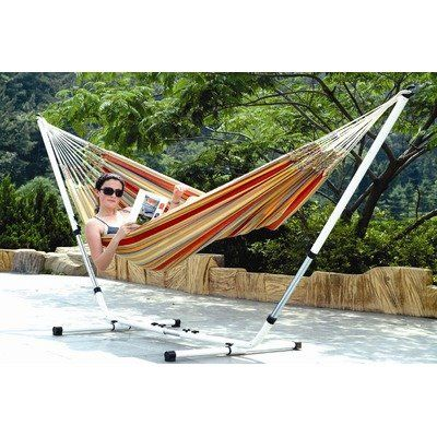 Medium image of stansport 31195 brazilian hammock stand  bo   double   79 in x 59 in