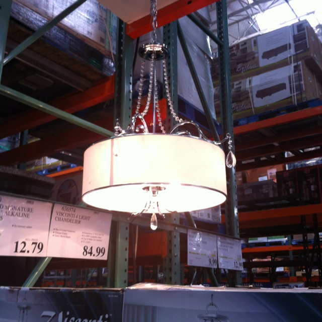 Chandelier Lighting At Costco: Dining Room Lights