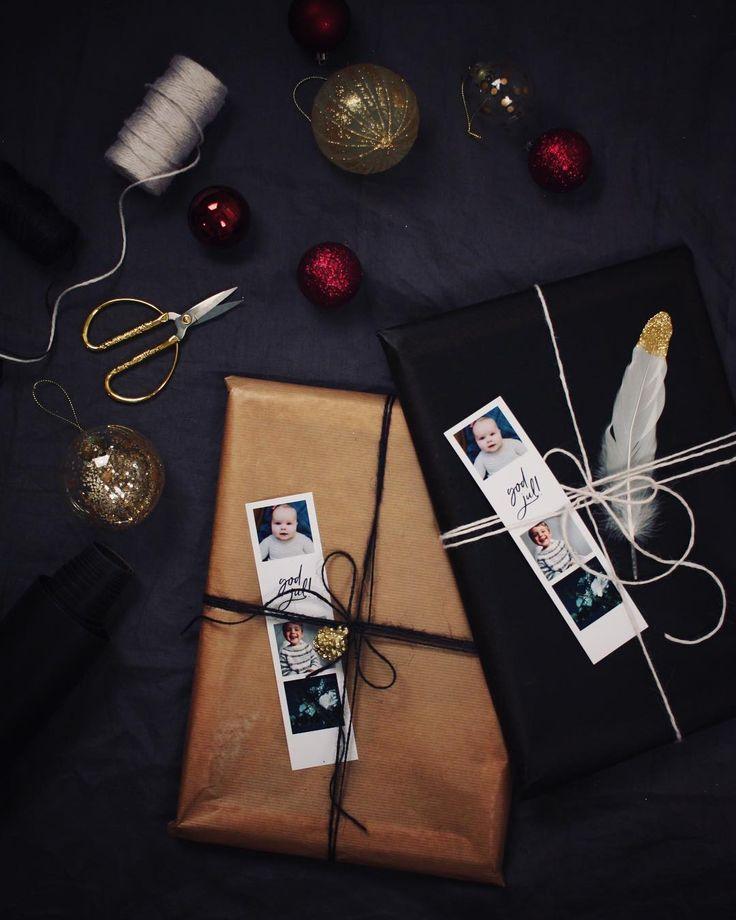 """467 likerklikk, 9 kommentarer – Pia Marlene (@guttenogstrikkemor) på Instagram: """"• @framkalla • å pakke inn julegaver er for meg er noe av det fineste med førjulstiden! Jeg…"""""""