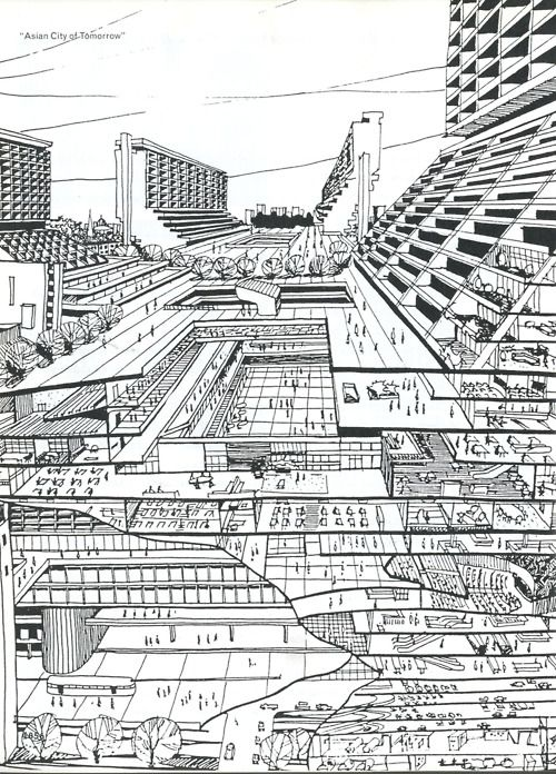 The Asian City of Tomorrow, from S,M,L,XL by Rem Koolhaas and Bruce Mau