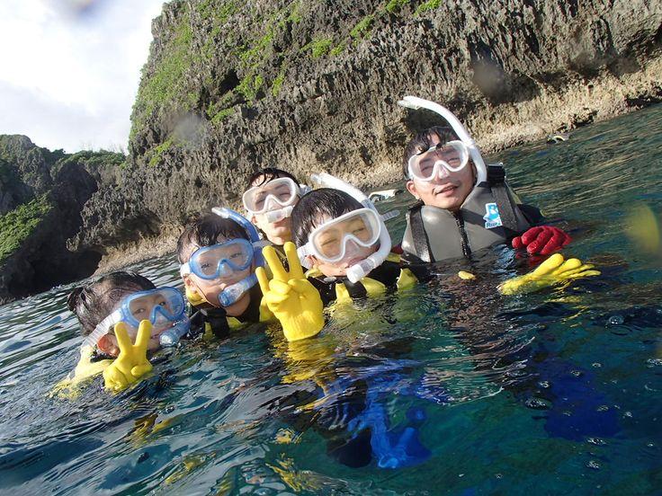 シュノーケルで海探検!! - http://www.natural-blue.net/blog/info_7980.html