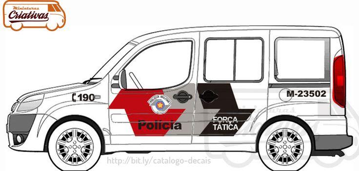 Fiat Doblò PMSP Força Tática