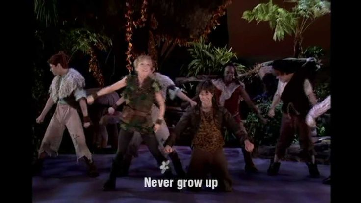 """I Won't Grow Up"" from the musical Peter Pan, sung by Cathy Rigby (1954)"