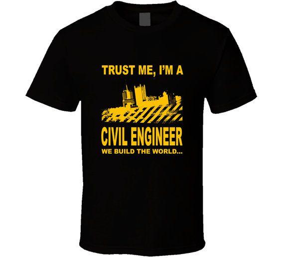 Civil Engineer t-shirt. Civil Engineer tshirt. Civil by TeeDino