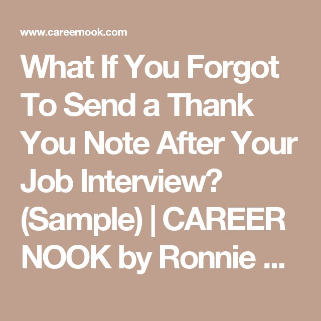 Более 25 лучших идей на тему «Sample thank you notes» на Pinterest - Thank You Note After Interview Sample