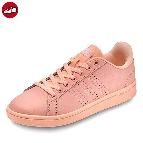 1dd2cf444 ... leisure coral adidas neo damen sneaker cloudfoam advantage clean w haze  coral haze ...