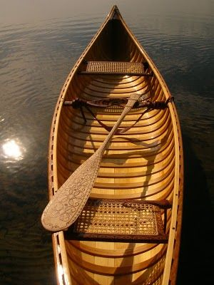 Season's First Paddle  Paddle Making (and other canoe stuff):