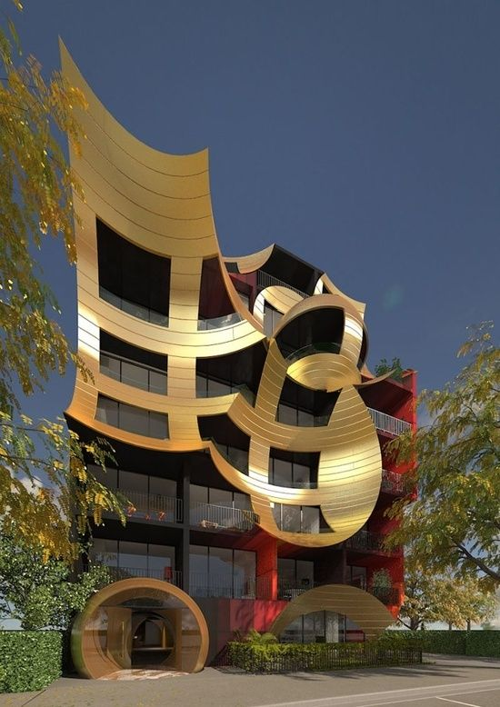Orbis by Ashton Raggatt McDougal PTY.  Very cool building!
