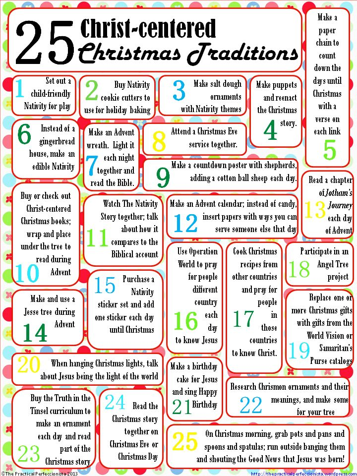 Fun Christmas/advent activities focusing on Christ rather than only on the kids.