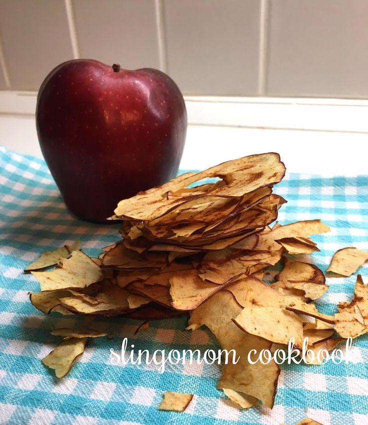 Ballı tarçınlı elma cipsi / slingomom.com