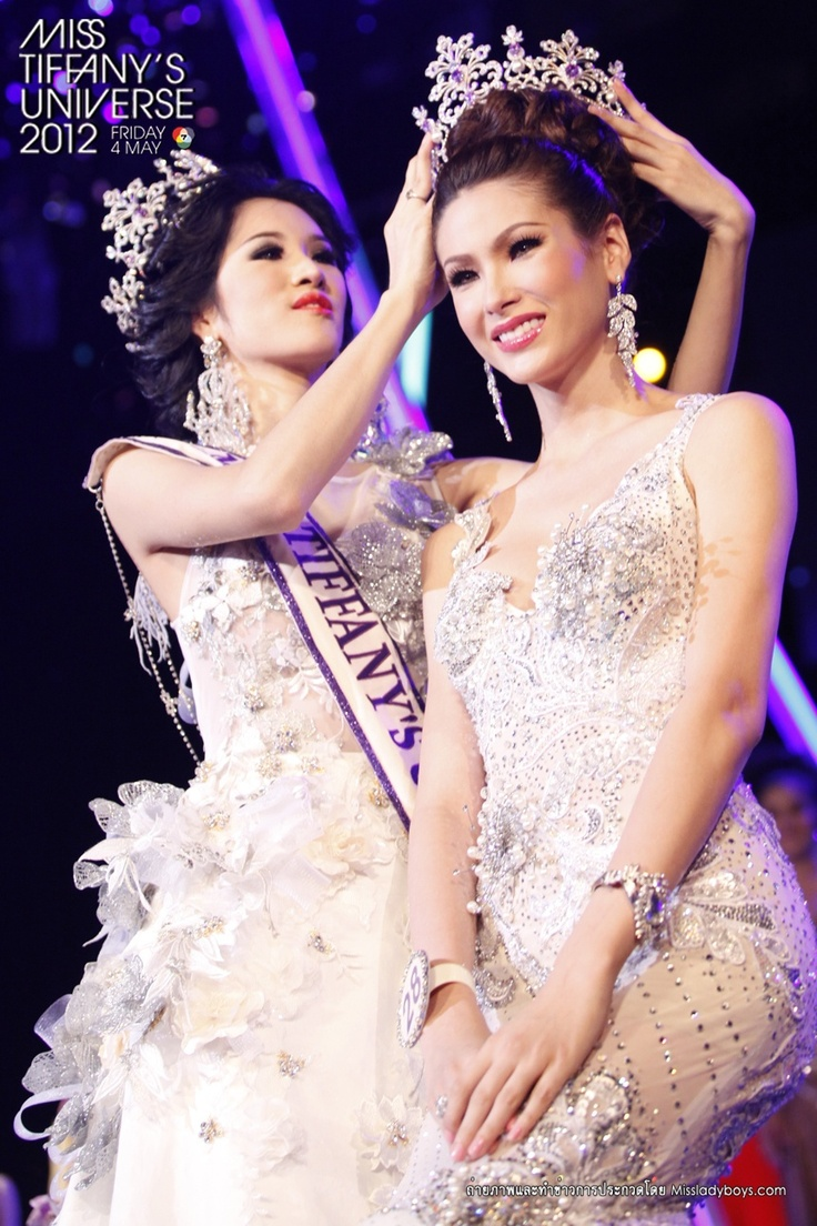 Miss Tiffany's Universe 2012 : not sure Singapore participated ;)