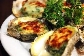 Oysters Rockefeller...my absolute favorite!