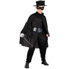 Kids Age 5 -7 Years Bandit Hero Fancy Dress Book Week Mexican Costume (M)